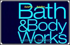 BATH & BODYWORKS #0767 BILINGUAL RELAX & EXCERCISE CENTER COLLECTIBLE GIFT CARD