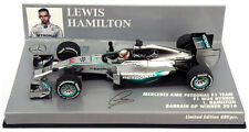 Minichamps Mercedes W05 Bahrain GP 2014 - Lewis Hamilton World Champion 1/43