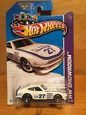 2013 hot wheels DATSUN 240Z die cast hw showroom toyo tires TORCO