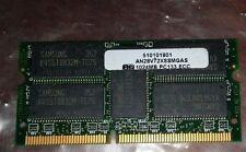 ATP Electronics AN28V72X8SMGAS 1GB SDRAM  64x8 PC133 18CHIPS  3.3v 144PIN ECC