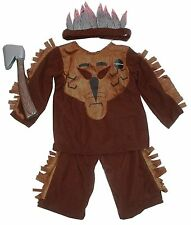 Childs/Boys Indian Fancy Dress Up Costume Book Day Age 5 to 6 years Halloween