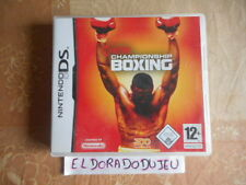 ELDORADODUJEU   SHOWTIME CHAMPIONSHIP BOXING Pour NINTENDO DS VF COMPLET TBE