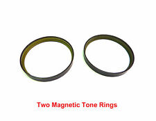 2 New Dodge Chrysler Axle ABS Magnetic Tone Rings, With Warranty,
