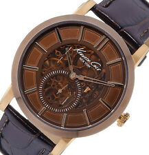 PRE-OWNED Kenneth Cole New York Men's Brown Dial Sub-Second Eye Watch KC1933
