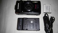 Olympus Tough TG-2 iHS 12.0 MP Digital Camera - Black  Very Good Condition