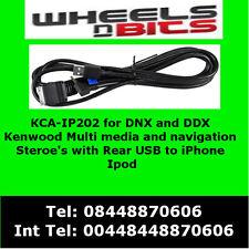 KCA-IP202 Per iPod iPhone Adattatore Per Kenwood DNX7210BT, DNX7280BT, DNX9210BT