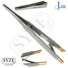 SYZE Castroviejo Needle Holder,Straight,Tc,Surgical Instruments,CE,UK Stock,Best