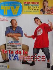 TV Sorrisi e Canzoni n°33 2010 Monica Bellucci Martina Stella Luca Argentero D22