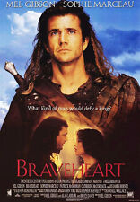 BRAVEHEART (1995) ORIGINAL MOVIE POSTER INTL. CAMPAIGN STYLE A -  ROLLED