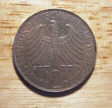 Germany German 2 marks coin 1961 J mint mark Max Planck