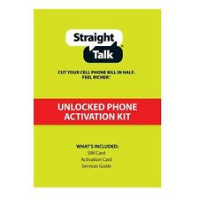 Straight Talk SIM Card T-Mobile Compatible Standard Size SIM Activation Kit T5B