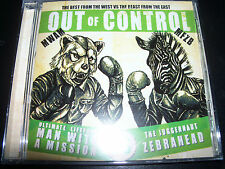MAN WITH A MISSION / ZEBRAHEAD Out Of Control Australian CD EP Single – New