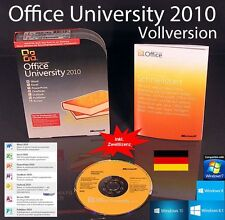 MS Office Professional University 2010 VERSIONE COMPLETA BOX F. studenti/personale accademico NUOVO