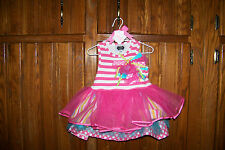 NWT MUD PIE TIERED BIRTHDAY PARTY DRESS 12-18M
