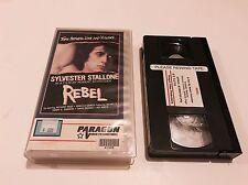 REBEL - RARE - 1970 - SYLVESTER STALLONE - PARAGON - VHS