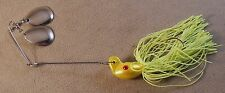 Muskie Fishing 3/4 oz DR Custom Spinnerbait With V Wire & Twin Colorado Blades