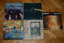 Deep Purple Led Zeppelin Queen Pink Floyd - Dark side of the moon Yugoslav lot