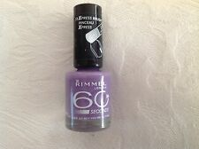 Genuine Rimmel London 60 Seconds Nail Varnish Polish 622 OH BOY YOUR SO FINE