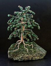 Natural Emerald And Green Zoisite Base Gem Stone Tree MADE IN U.S.A.GT28