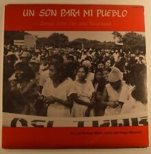 luis enrique mejia godoy & grupo mancotal lp songs of the new nicaragua SEALED
