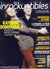LES INROCKUPTIBLES 625../...KATERINE & DOMINIQUE A....DUO INEDIT.../.11 -2007