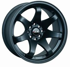 16X8 XXR 522 WHEELS 4X100/114.3 RIM 0MM FLAT BLACK