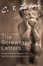The Screwtape Letters Letters from a Senior to a Junior Devil C S Lewis New Book
