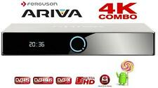 FERGUSON ARIVA 4K COMBO DVB-C SATELLITE BOX ULTRA HIGH DEFINITION UHD SMART