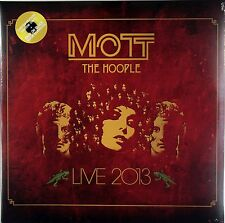 Mott The Hoople - Live 2013 (Limited 2 x 180g Yellow Vinyl) New & Sealed
