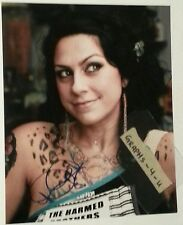 Danielle Colby Cushman Signed Dannie Diesel Autograph Pickers Burlesque