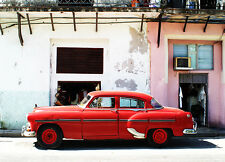 "Wall Mural photo Wallpaper ""HAVANA CUBA OLD CAR on street"" for interior walls"