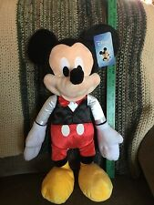 """2016 Disney Mickey Mouse 21"""" Soft Plush Toy   NWT   Great Gift"""
