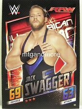 Slam Attax then now Forever - #088 Jack Swagger