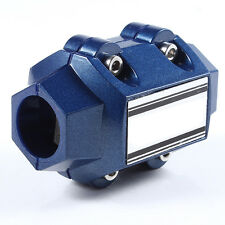 New Universal Magnetic Gas Oil Fuel Saver Performance Trucks Cars Blue