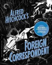 Foreign Correspondent (Blu-ray Disc, 2014, Criterion Collection) MINT