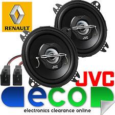 """Renault Kangoo MK1 Van JVC 10cm 4"""" 420 Watts Rear Hatch Car Speakers & Connector"""
