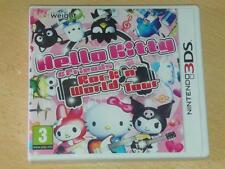 Hello Kitty & Friends Rock N' World Tour Nintendo 3DS 2DS UK **FREE UK POST**
