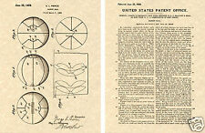 Orig BASKETBALL Patent 1929 Vintage Art Print READY TO FRAME!!! Basket ball net