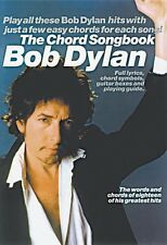 Bob Dylan The Chord Songbook Sheet Music Book NEW 014004746
