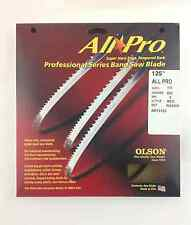 """Olson All-Pro Band Saw Blade 125"""" x 1/4"""" 6TPI for Laguna LT14 SUV & others, USA"""