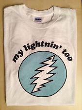 Grateful Dead Tee Shirt -- Supplication Lazy Lightnin' Bolt -- Size L