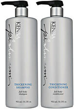 KENRA Platinum Thickening Shampoo + Conditioner 31.5 OZ, Color Safe COMBO