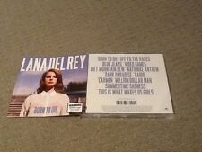 Born to Die by Lana Del Rey 12 Track Cd Standard Jewel Case Edition