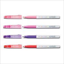 Pilot Frixion Color Fasermaler Set baby-pink, pink, violett, rot