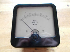 Sifam Electrical Instrument Bakelite Voltmeter mid 20th Century