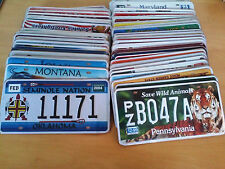 SET OF 50 US LICENSE PLATES USA METAL REPLICA VINTAGE COLLECTIBLE MIXED STATES