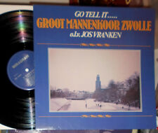 GROOT MANNENKOOR ZWOLLE JOS VRANKEN GO TELL IT LP WEIHNACHTEN CHRISTMAS