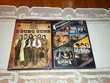 NEW Young Guns & Young Guns II, and MORE (3 DVD Widescreen Set) Emilio Estevez