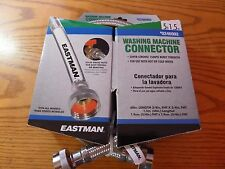 Eastman Washing Machine Connector Hose Stainless Steel 5 ft 0246992