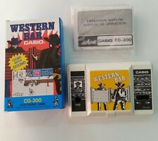 1990 Casio Western Bar Game & Watch CASIO CG-300 Ultra Rare  Boxed Excellent